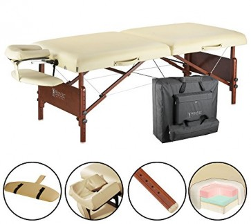 10048 Master Massage - Lettino da massaggio portatile Del Ray Pro, 71
