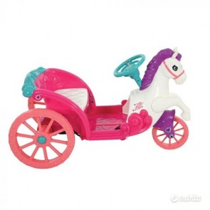 Disney Princess 6V Battery Operated Horse And Carriage Ride On MV Spor