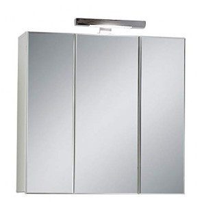 13Casa - Ibis B3 - Specchio contenitore. Dim: 70x19x69 h cm. Col: Bian